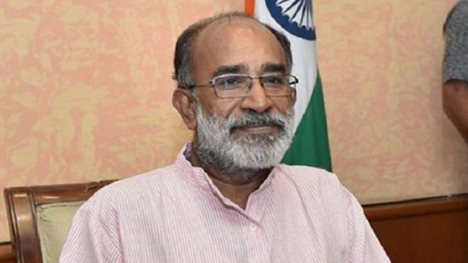KJ Alphons draws criticism over his 'selfie' at CRPF Jawans Funeral