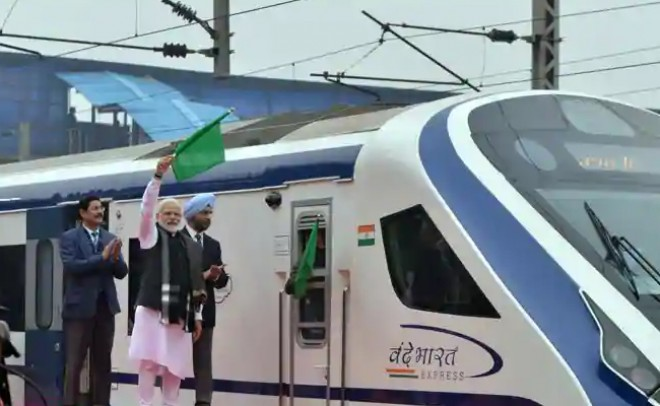 Day after being flagged off Vande Bharat Express runs into trouble
